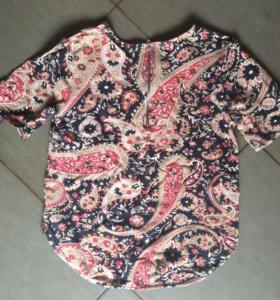 блузка кофта свитшот 44 размер