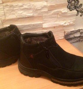 Зимние ботинки 39размер