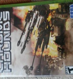 Диск с игрой Chromehounds для Xbox 360