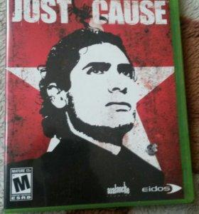 Диск с игрой Just Cause для Xbox 360