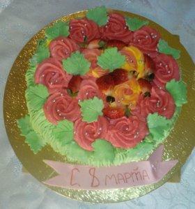 Пирожные и торты