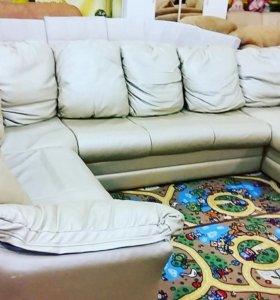 Продам диван эко кожа