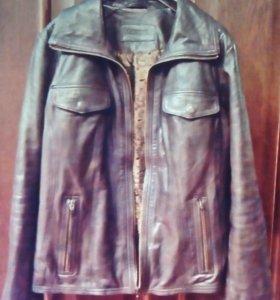 Натуральная кожаная куртка новая