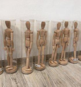 Гестальта ( деревянная фигурка на шарнирах)
