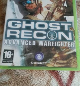 "Tom Clancy""s Ghost Recon Advanced Warfighter Xbox"