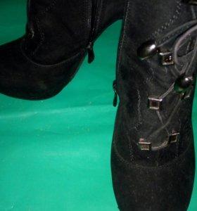 Ботильоны и джинсы