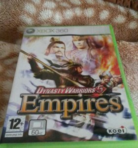 Диск с игрой Dynasty Warriors 5 Empires Xbox 360