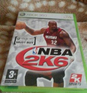 Диск с игрой NBA 2K6 для Xbox 360