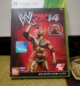 Игра для xbox 360 WWE 2K14