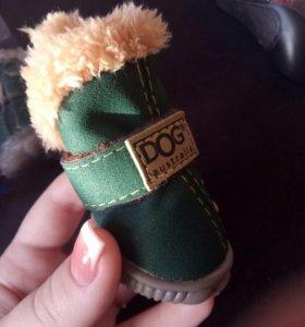 Продается обувь для собак