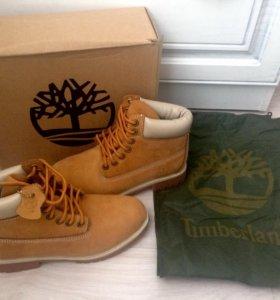 Ботинки Timberlands, полный комплект