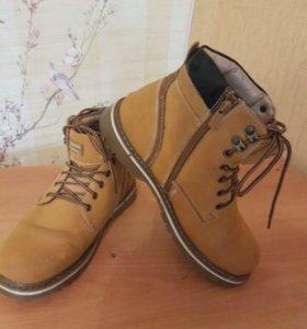 Мужские ботинки 40-й размер