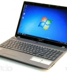 Игровой ноутбук Acer 5742g на Core i5