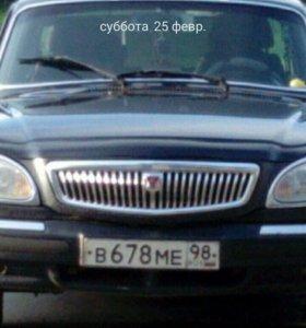 Левая фара газ 31105