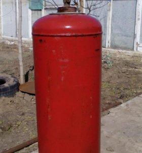 Балон газовый.Наплнен до половины.