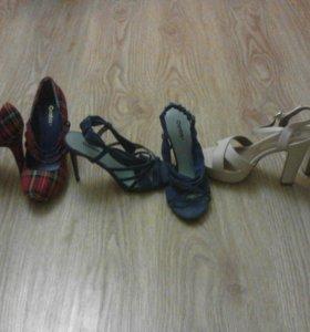 новые  туфли и босоножки