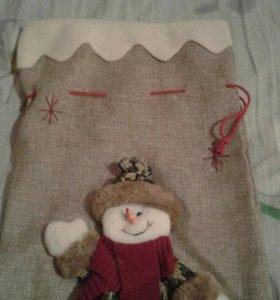 Мешочки для Новогодних подарков))