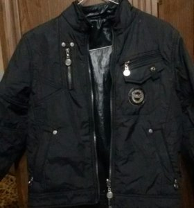 Куртка для мальчика демисезонная двухсторонняя