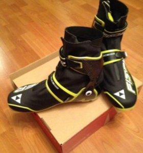 Лыжные ботинки Ficher