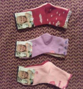 Детские носочки новые р.25-30