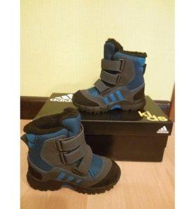 Демисезонные ботинки adidas kids