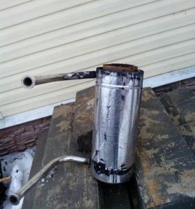 Нагревалеьный котёл в трубу для ототления