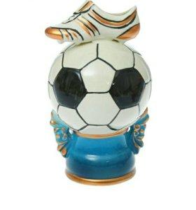 Копилка мяч 22 см