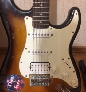 Продаю электрогитару Fender Squier 2014