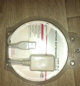 Кабель удлинитель для USB