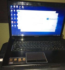 Продаю или обменяю игровой ноутбук Lenovo g780