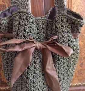 Новая сумка плетенка