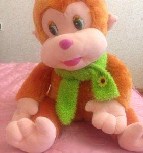Мягкая игрушка, обезьянка