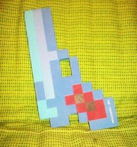 Minecraft пистолет