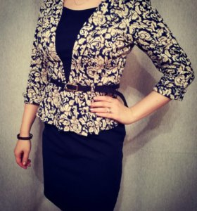 Костюм , платье + пиджак