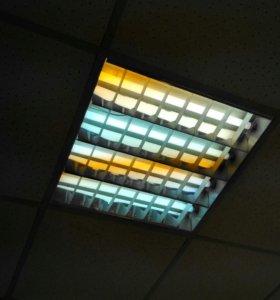 Светильник офисный 2шт.