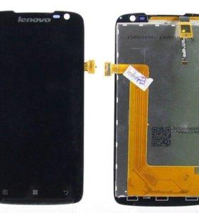 Дисплей Lenovo S820 в сборе с тачскрином