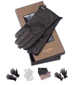 Кожаные перчатки мужские Dr.Koffer