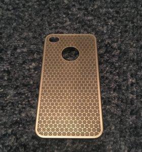 Металический чехол для iPhone 4s