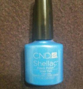 CND Shellac 7.3 ml цвет water park