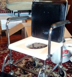 Кресло-туалет для инвалидов. Германия. Доставка.