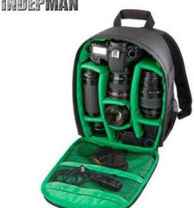 Рюкзак для фотоаппаратов-кофр новый