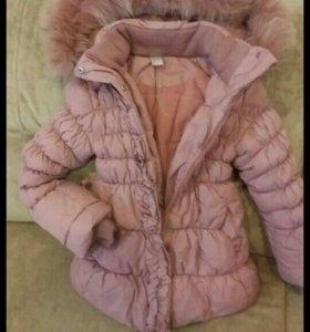Куртка и шапка Зима