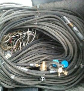 Газовое оборудование для сварки.