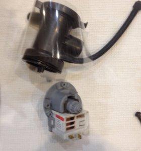 Насос для стиралки lg 5858ER1003A новый