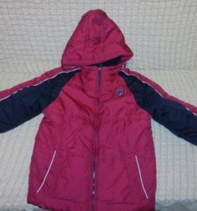 Куртка осень-зима. рост 134