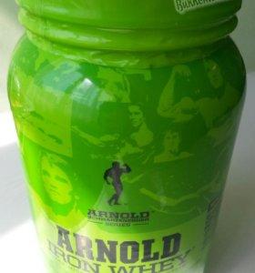 Whey protein Arnold iron