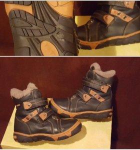 Зимние ботинки в отличном состоянии