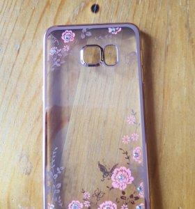 Чехол на телефон самсунг Galaxy S6 edge