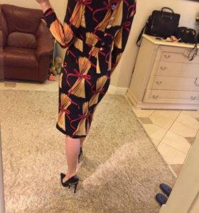 Шикарное платье Dolce Gabbana шелк