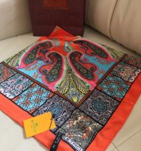 Шёлковый платок Etro , 90*90